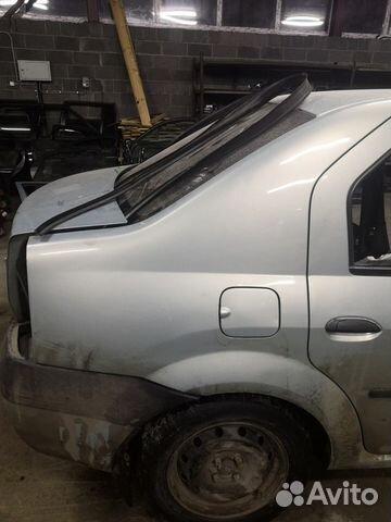 89226688886 Крыло заднее правое (Renault Logan)