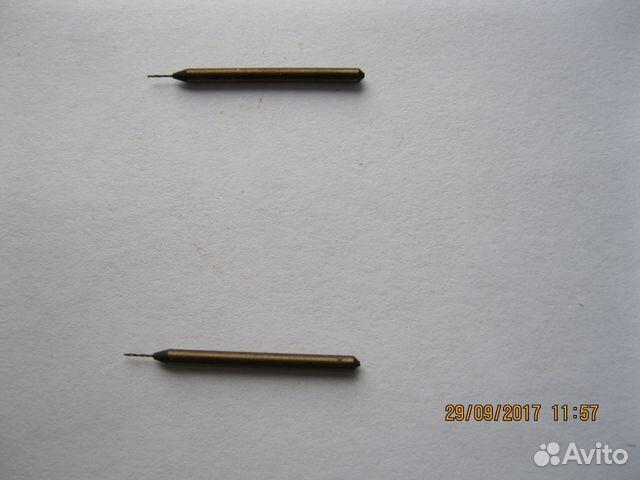 Сверла 0,2 и 0,35 мм с утолщенным хвостовиком