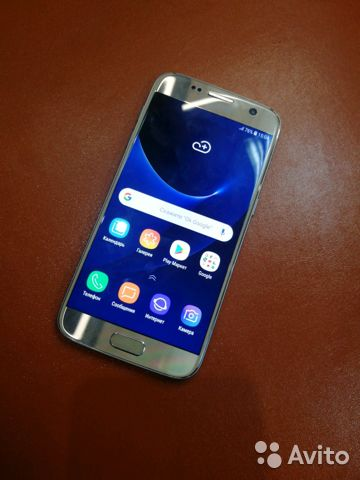 89107311391  SAMSUNG S7 Gold