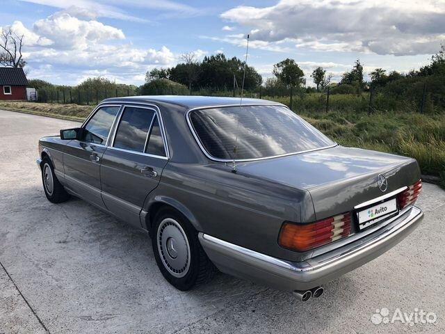 Mercedes-Benz S-класс, 1988 89062395760 купить 6