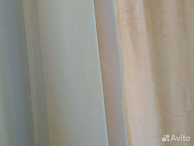 Set of curtains 2 dense and 2 nylon