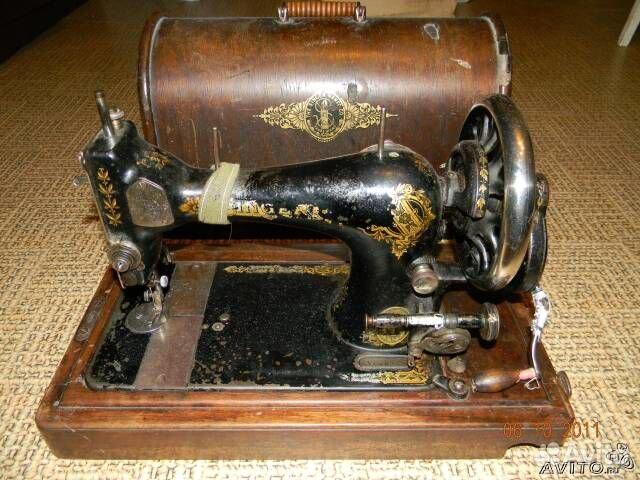 старинные швейные машинки фото