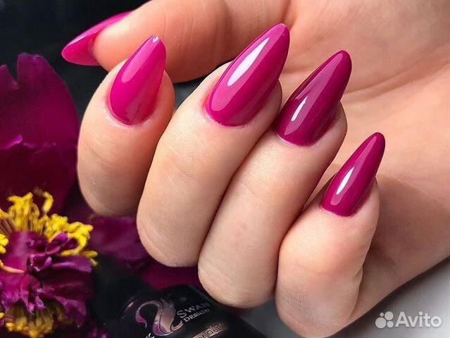 Наращивание ногтей, покрытие шеллак 89994311353 купить 6