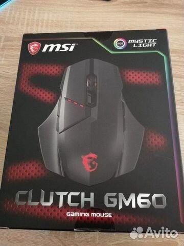 Мышь компьютерная MSI Clutch GM60