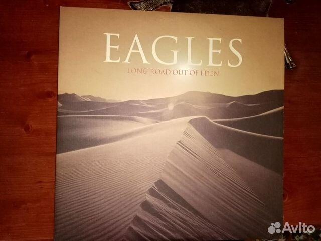Виниловая пластинка Eagles Long road out of eden  89086152795 купить 1