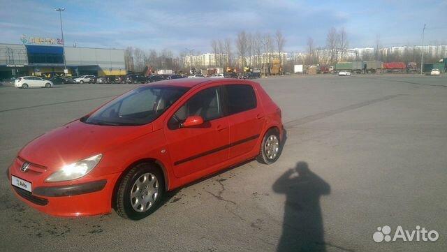 Peugeot 307, 2002 89584144657 купить 1