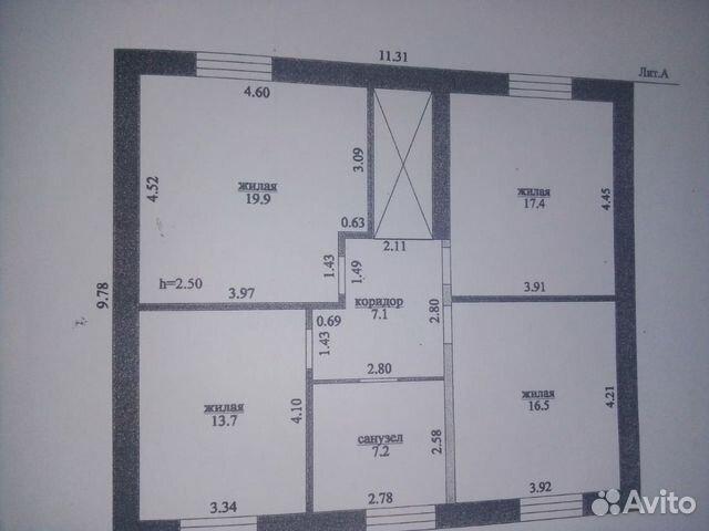 Коттедж 270 м² на участке 15 сот. 89616587898 купить 4