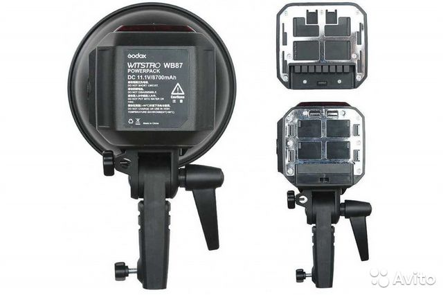 Студийная вспышка Godox Witstro AD600BM kit (х1)  купить 9