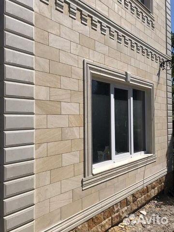 Облицовка фасада Дагестанской плиткой купить 7