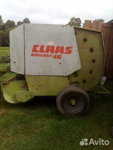 Пресс-подборщик Claas Rollant 46  купить 2