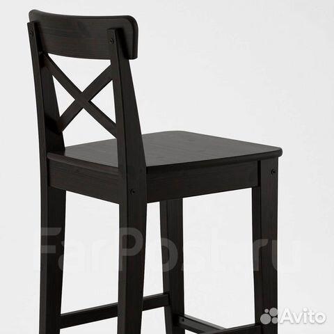 Продам 3 стула IKEA ингольф с подушками малинда