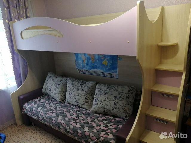 Кровать двухъярусная  89610487140 купить 1