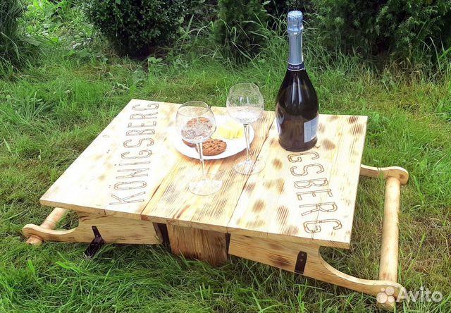 Столик трансформер для пикника ручной работы  89062199800 купить 2