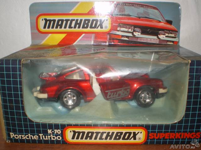 Matchbox superkings porsche turbo K-70