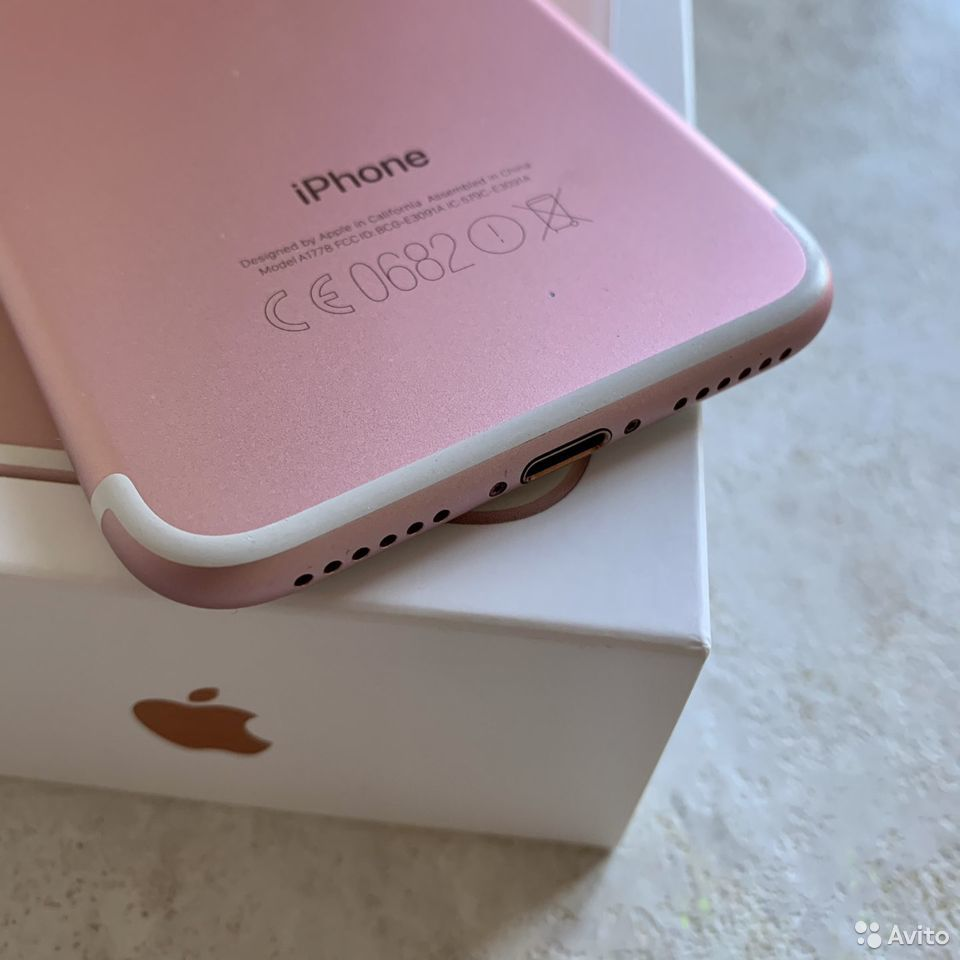 iPhone 7 32Гб RU/A Rose Gold  89243435002 купить 10