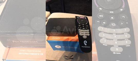 TV приставка ростелеком купить в Краснодарском крае | Бытовая электроника | Авито