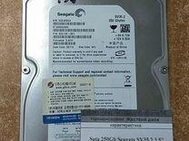 """Жесткий диск SATA 250Gb Seagate SV35.2 3.5"""" — Товары для компьютера в Краснодаре"""