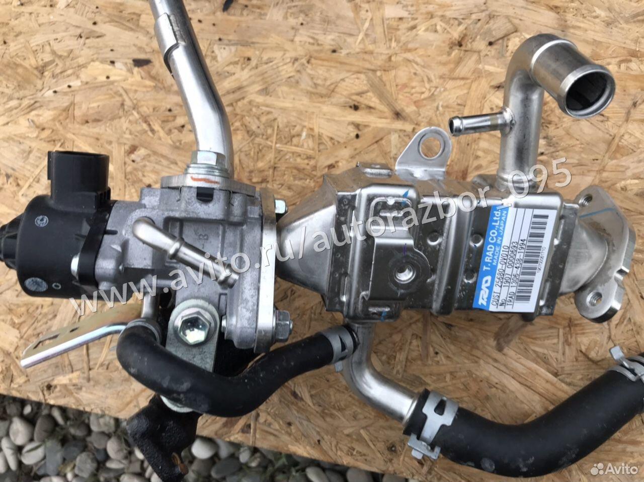 Клапан + радиатор EGR Toyota Camry XV70 2,0 6AR  89659502108 купить 1