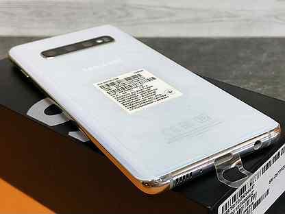 Новый / Samsung S10 Перламутр 8/128 / Ростест