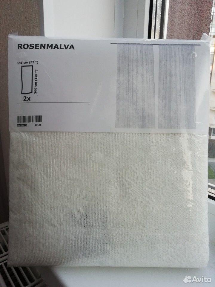 Тюль гардины икеа розенмальва  89310027478 купить 3