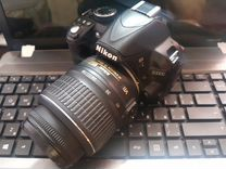 Nikon d3100 + объектив af-s 18-55mm