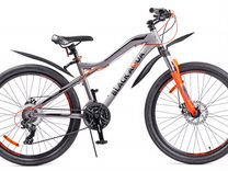 "Велосипед black aqua Cross 2684 D matt 26"" 2018"