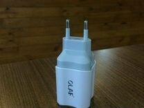 Адаптер Olaf. Кабеля Micro USB/Type-C/Lightning