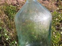 Бутыль стеклянная 20 литров.Крышка винтовая