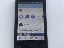 Смартфон на android, 2 sim, хорошее состояние