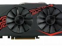 Игровая видеокарта asus Radeon RX 570 1256MHz PCI