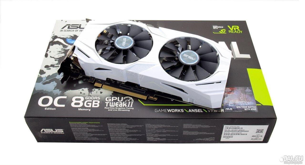 Asus GTX 1070 8GB  89042680424 купить 1