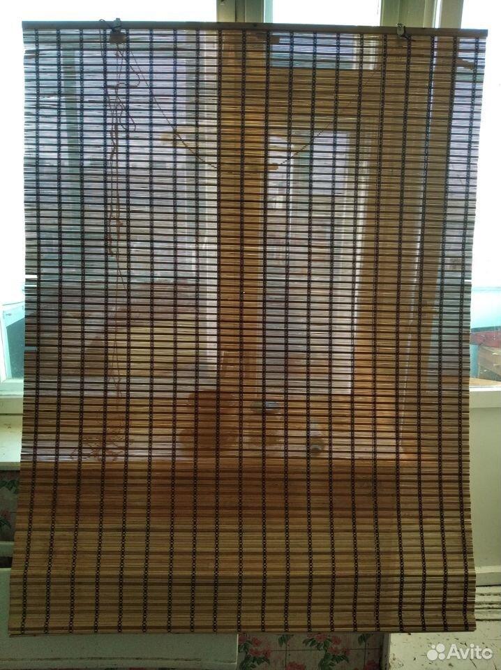 Рулонная бамбуковая штора 120*165  89087999954 купить 1