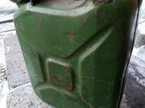 Канистра топливная металлическая на 20 литров