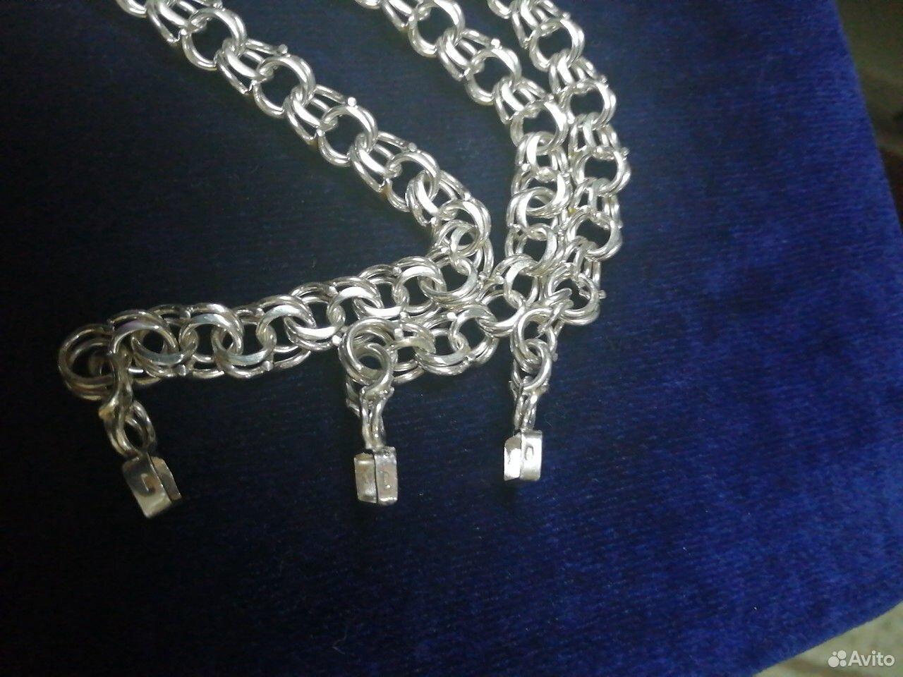 Серебряные браслеты Bismark 925 пробы. Новые от  89118641255 купить 6