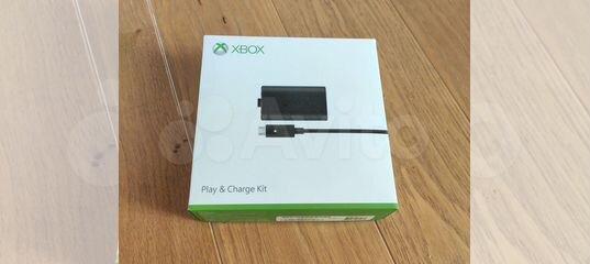 Xbox One Play & Charge Kit (аккумулятор и провод) купить в Московской области | Бытовая электроника | Авито