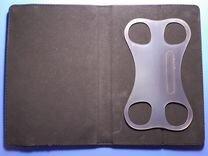 Кожаный универсальный чехол-обложка 7 дюймов