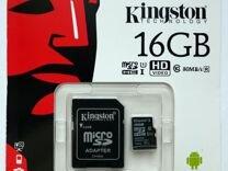 Kingston, SanDisk 16Gb microsd 10 class UHS-I