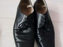 Мужские ботинки классика натуральная кожа
