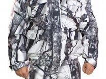 "Охотничий зимний мембранный костюм (""зимний лес"")"