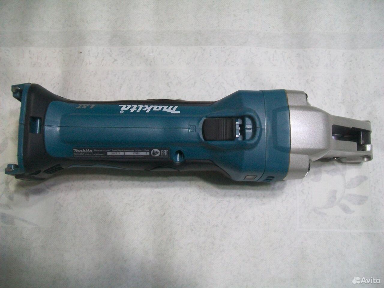 Аккумуляторные шлицевые ножницы по металлу Makita  89048637173 купить 4