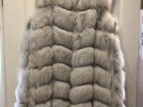 Жилет из песца белый — Одежда, обувь, аксессуары в Москве