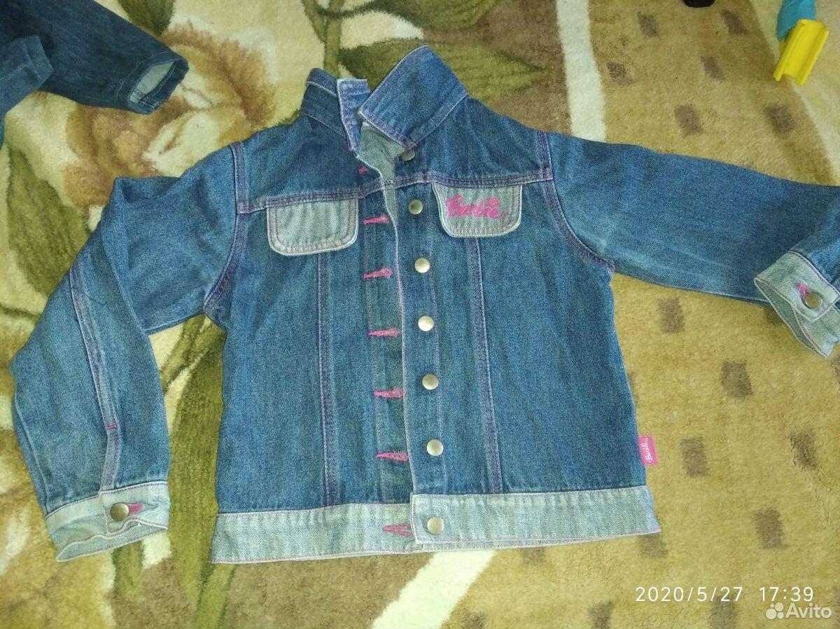 Джинсовые куртки и ветровка для девочки 7-8 лет  89109631283 купить 1