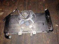 Радиатор yamaha FZ400