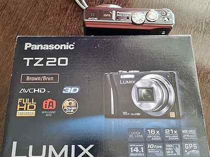 Компактный цифровой фотоаппарат Panasonic tz20