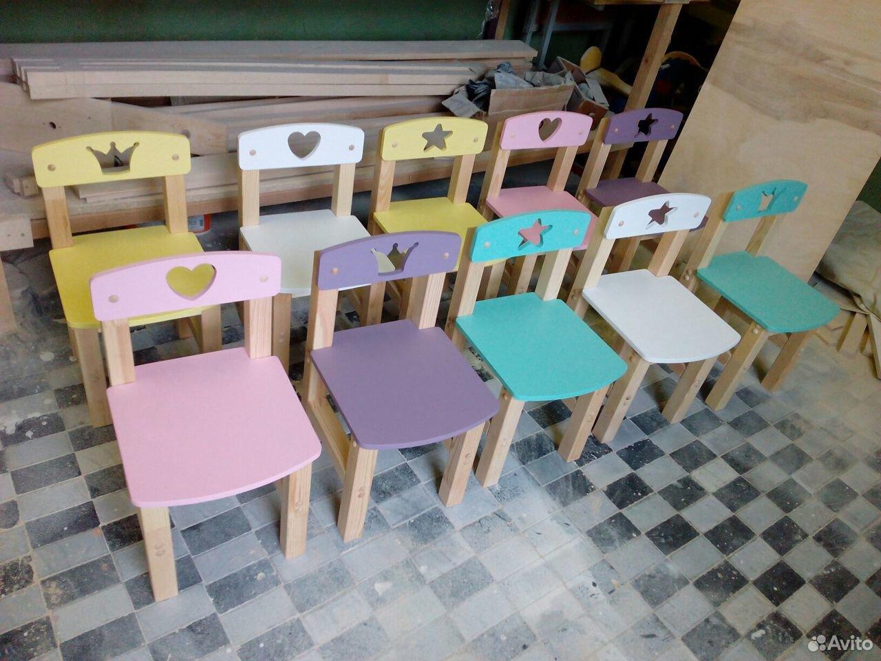 Стульчик детский деревянный  89517599918 купить 7