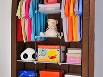 Шкаф конструктор (коричневые, новые) каркасный — Мебель и интерьер в Челябинске