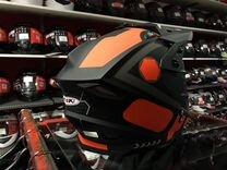 Кроссовый мотошлем Ataki. Шлем для мотокросса