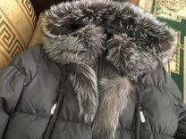 Куртка новая мех чернобурки