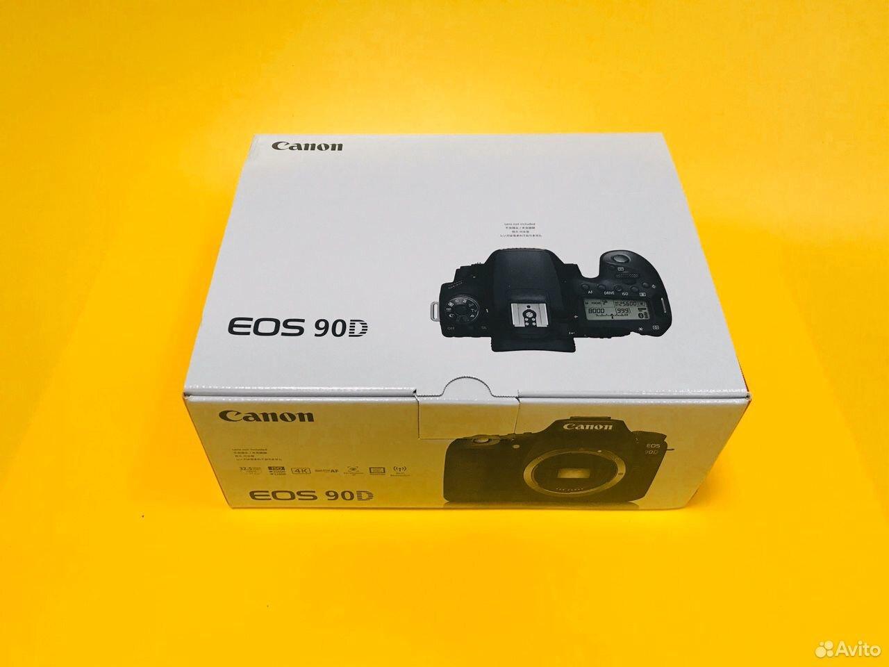 Новый рст Canon EOS 90D Body Русское меню