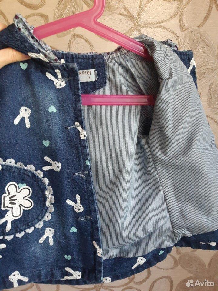 Джинсовая курточка на девочку  89236219223 купить 4